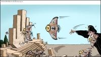 اليمن مقبرة الغزاة  #كاريكاتير  #مأرب