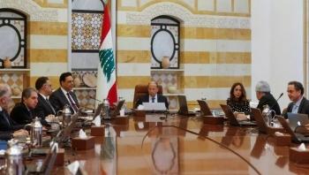 حكومة لبنان تقرّ بيانها الوزاري وتتوجه للبرلمان لنيل الثقة