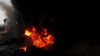 مقتل محتج فلسطيني في اضطرابات بسبب خطة أمريكا للسلام بالشرق الأوسط