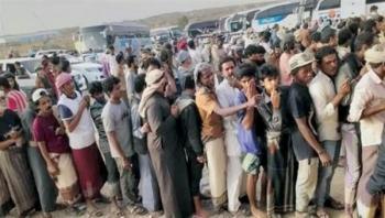 المليشيا ترتكب جريمة جماعية وكارثة صحية بحق المسافرين وتنهب جيوبهم