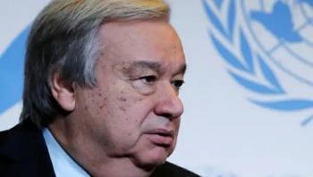 أمين عام الأمم المتحدة يرحب بإعلان التحالف وقف إطلاق النار في اليمن