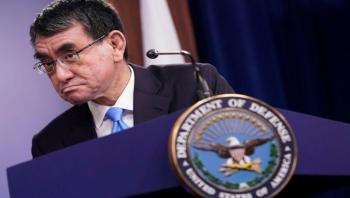 وزيرا الدفاع الياباني والأمريكي يعارضان محاولة تغيير وضع المياه الآسيوية