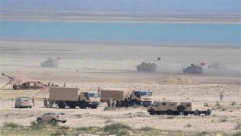 المهرة: القوات السعودية تستحدث مواقع عسكرية قرب منفذ شحن الحدودي