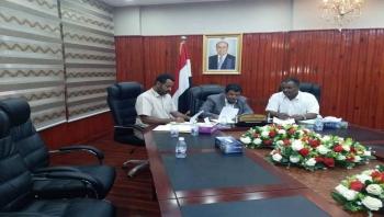 """المهرة..توقيع مذكرة تعاون بين السلطة المحلية بالمحافظة ومنظمة """"شركاء اليمن"""""""
