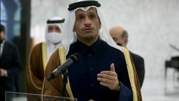 مباحثات قطرية أمريكية حول تطورات أزمة اليمن