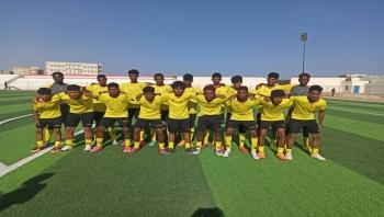 المهرة : نادي الجزع وشباب الغيضة يتعادلان بهدف لمثله في دوري الفقيد بن غدوين
