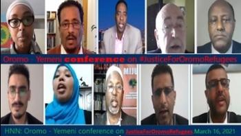 13 منظمة حقوقية في مؤتمر جنيف تدعو المجتمع الدولي إلى محاسبة المسئولين عن حرق مئات المهاجرين الاورومو في صنعاء