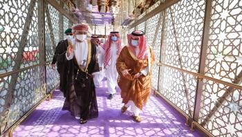 وزير الخارجية العماني يزور الرياض حاملاً رسالة خطية من السلطان هيثم بن طارق إلى الملك سلمان بن عبدالعزيز