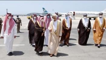 عُمان : وصول وزير الخارجية السعودي إلى مسقط لبحث الوضع في اليمن