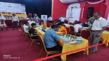 منتخب المهرة يتعادل مع منتخب لحج في منافسات بطولة الفقيد خالد صالح للشطرنج