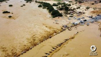 وفاة 14 جراء سيول الأمطار في عدد من المحافظات