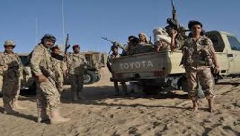 مأرب : الجيش الوطني يصد هجوم حوثي في جبهة صرواح