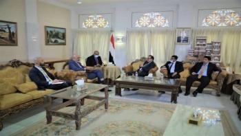 وزير الصحة يبحث مع السفير الهولندي دعم القطاع الصحي.