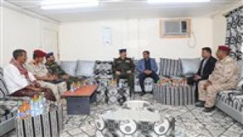 وزير الداخلية يناقش مستجدات الأوضاع الأمنية بحضرموت