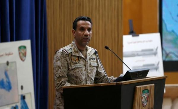 التحالف يقول إن قوات الدفاع اعترضت صواريخ بالستية أطلقها الحوثيون باتجاه السعودية