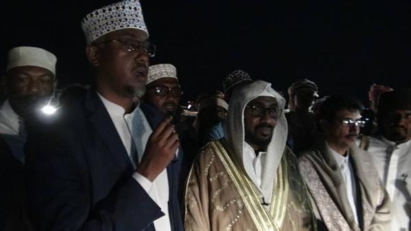 قبائل المهرة تستقبل الملك برهان موسى ملك قبائل الدارود الصومالية