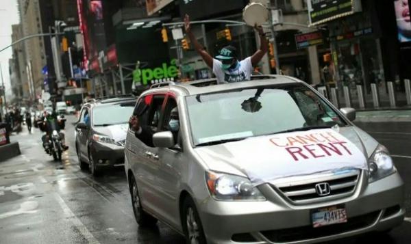 سكان نيويورك يتمردون ويرفضون دفع الإيجار
