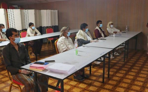 منتدى التنمية السياسية بالمهرة يقيم ورشة عمل حول بناء السلام وتخفيف حدّة النزاعات