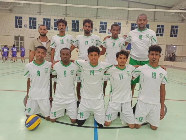 انطلاق البطولة التنشيطية لكرة الطائرة لأندية المهرة