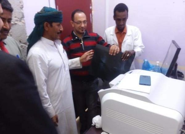 المهرة : تدشين العمل بجهاز تحميض الأشعة ديجيتال بمركز السلطان قابوس الصحي في شحن