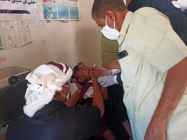 القائم بأعمال مدير عام سيحوت يدشن الحملة الوطنية للتحصين ضد شلل الاطفال