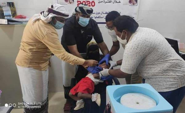 المهرة المسيلة .. تدشين الحملة الوطنية للتحصين ضد شلل الأطفال
