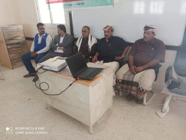 الشيخ الزويدي يدشن الدورة التدريبية لأعضاء المجلس المحلي والمكتب التنفيذي التي ينفّذها الصندوق الإجتماعية للتنمية فرع المكلا .