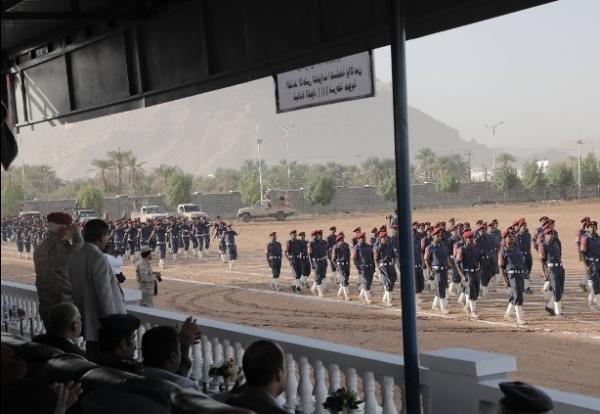 محافظ حضرموت.. يفتتح مقر قيادة اللواء 101 شرطة جوية بسيئون