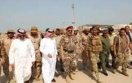 أبين ..وصول قوة عسكرية سعودية إلى شقرة للاشراف على إنسحاب مسلحي الإنتقالي