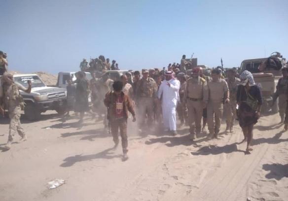 أبين .. السعودية تمارس ضغوطات على الرئيس وتوقف عرض عسكري كبير في شقرة