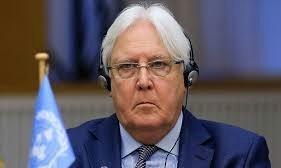 غريفيث: يناقش مع نائب وزير الدفاع السعودي جهود السلام في اليمن