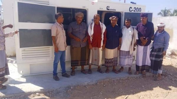 الشيخ الزويدي يدشن استلام مولّد جديد لرفد مستشفى سيحوت الريفي بالطاقة الكهربائية