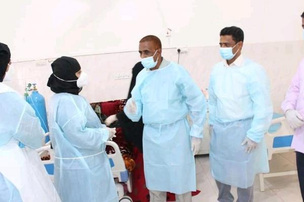 المهرة .. الصحة تتفقد مركز الحميات بمستشفى الغيضة وتشدد على التقيد بالإجراءات لمواجهة كورونا