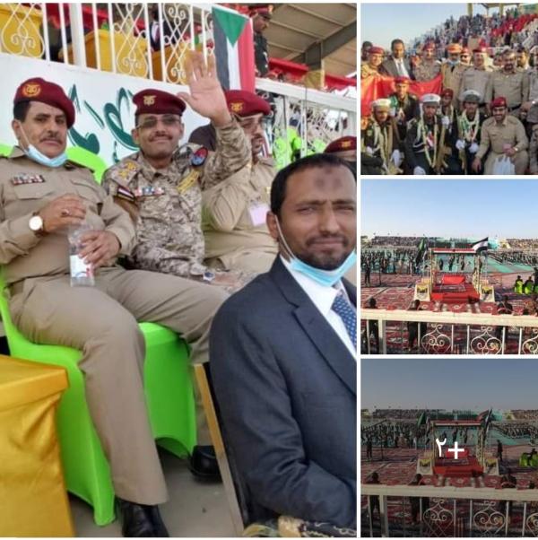 وكيل أول محافظة المهرة يشارك في حفل تخرج دفعات جديدة بالكلية الحربية السودانية، ويشيد بدور الملحقية العسكرية اليمنية