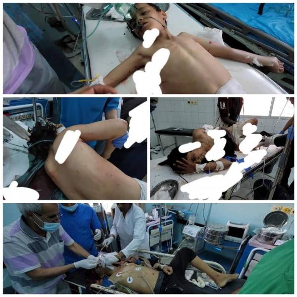 الحوثيون يطلقون صاروخ على الأحياء السكنية بمدينة مأرب وأنباء عن إستشهاد طفل وأصابة آخرين