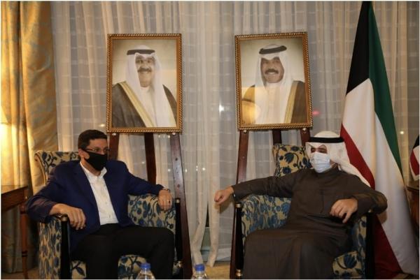 وزير الخارجية بن مبارك في زيارة رسمية لدولة الكويت