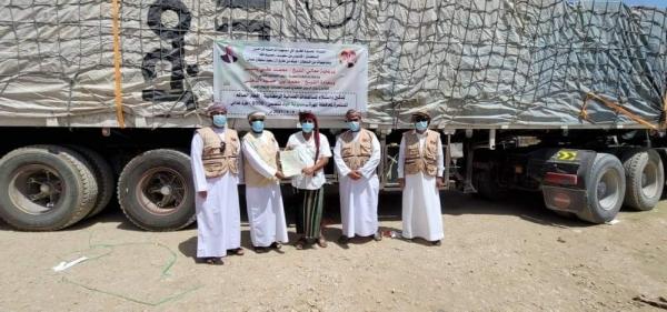 المهرة : وصول القافلة الغذائية الرمضانية مقدمة من الهيئة العمانية للأعمال الخيرية
