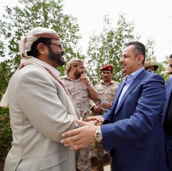 مأرب :رئيس الوزراء يصل مدينة مأرب لمناقشة احتياجات المحافظة