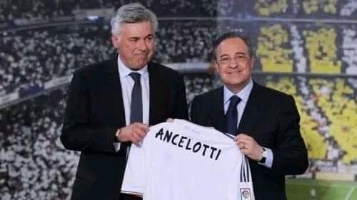 رسمياً: كارلو أنشيلوتي يعود لتدريب ريال مدريد بعقد يمتد حتى 2024