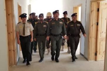 حضرموت : وزير الداخلية يطلع على آلية القبول والتسجيل والتجهيزات الجارية بكلية الشرطة