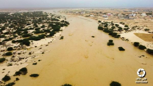 المهرة..وفاة شخصين غرقاً في مديرية شحن بسبب سيول الأمطار