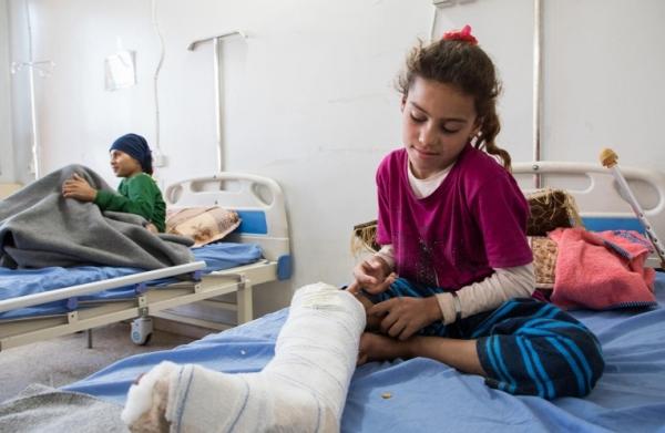 الجوف : استشهاد استشهاد قائد الكتيبة الأولى في اللواء 155وإصابة 8 مدنيين بينهم نساء وأطفال جراء انفجار ألغام