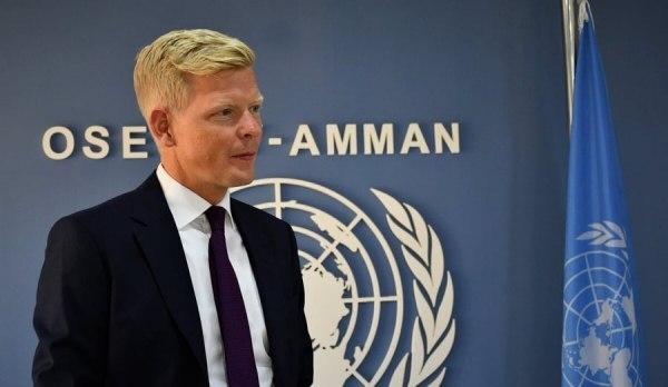 """""""غروندبرغ"""" عقب تسلمه مهامه الرسمية يتعهد ببذل كل ما في وسعه لتحقيق سلام دائم في اليمن"""