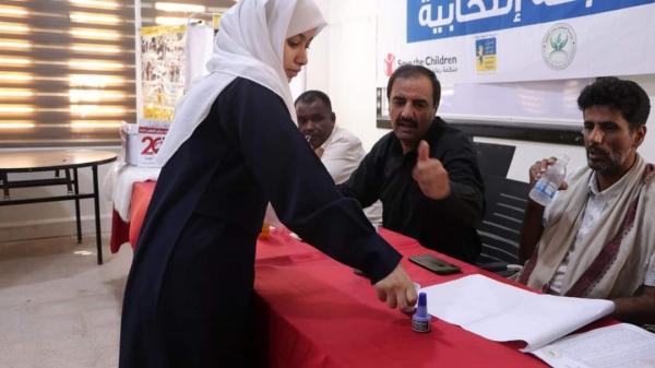 مكتب التربية والتعليم  بالمهرة  يدشن الانتخابات البرلمانية 2022/2021م