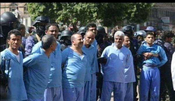 صنعاء : وسط تنديد حقوقي واسع جماعة الحوثي تعدم تسعة من أبناء تهامة بتهمة الاشتراك في اغتيال الصماد