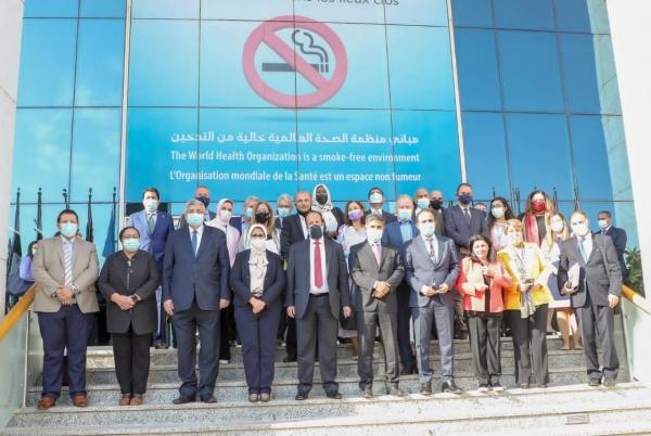 وزير الصحة يشارك في الدورة الثامنة والستين لاقليم شرق المتوسط لمنظمة الصحة العالمية