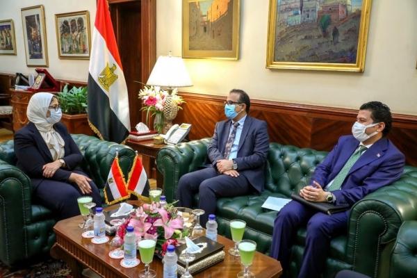 مباحثات يمنية مصرية لتعزيز التعاون الصحي بين البلدين