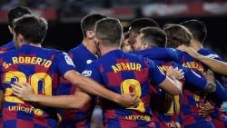 برشلونة يحقق فوزاً صعباً على فياريال ويخسر ميسي