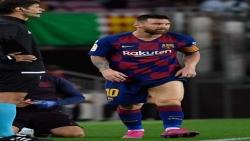 مخاوف في برشلونة من فترة غياب ميسي