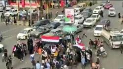 عشرات المواطنين في صنعاء يحيون الذكرى الـ57 لثورة الـ26 من سبتمبر